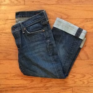 CITIZENS OF HUMANITY JEAN ROLLED CUFF CAPRIS